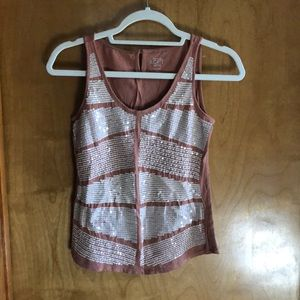 LOFT sequence cotton tank top